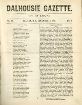 Dalhousie Gazette, Volume 4, Issue 2