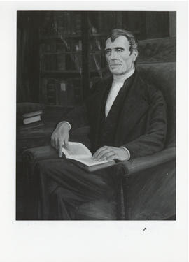 Photograph of a painting of Thomas McCulloch