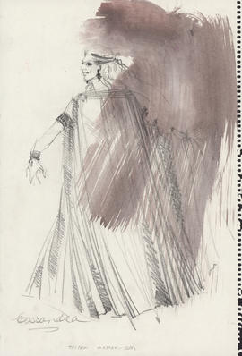 Costume design for Cassandra