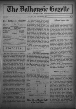 The Dalhousie Gazette, Volume 56, Issue 3