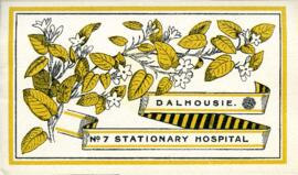 Dalhousie University No. 7 Stationary Hospital brochure