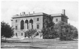 Postcard of the Nova Scotia archives Building