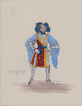 Costume design for the Knight
