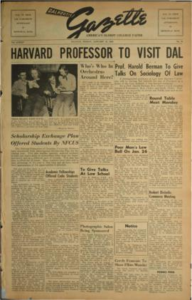 Dalhousie Gazette, Volume 84, Issue 24