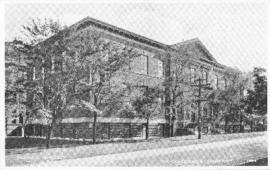 Postcard of the medical sciences building