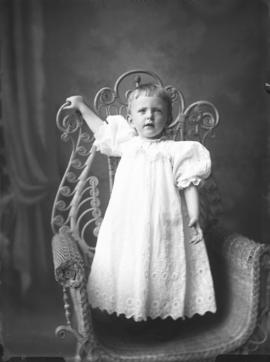 Photograph of Mrs. Fred Armstrong's daughter