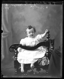 Photograph of T.B. Olding's baby