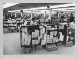 Photograph of the bookstore in the Student Union Building