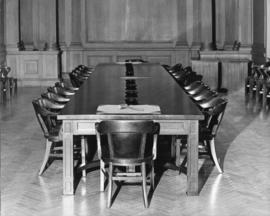 Photograph of the  Arts & Administration Building board and senate room
