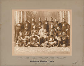 Photograph of Dalhousie Medical Team - Inter-Class Champions - 1910