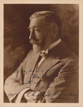 Charles Harriss : [autographed photograph]