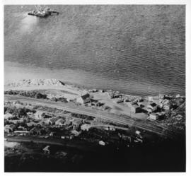 Aerial photograph of Africville
