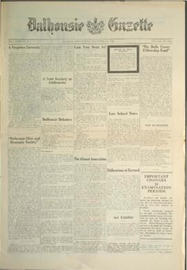 Dalhousie Gazette, Volume 58, Issue 7