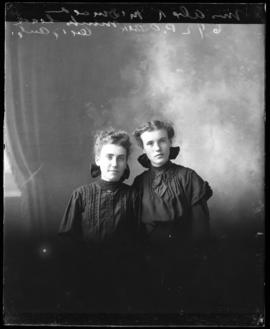 Photograph of Mrs. Alex R. McDonald and friend