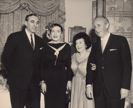 Lotte Lehmann, Dr. Ross Flemington, and Ellen Ballon at Mount Allison University : [photograph]