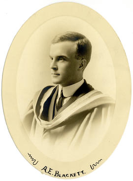 Portrait of Arthur Edwin Blackett : Class of 1915