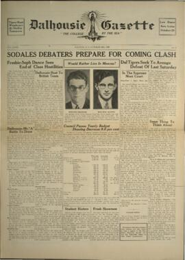 Dalhousie Gazette, Volume 69, Issue 4