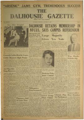 The Dalhousie Gazette, Volume 87, Issue 12