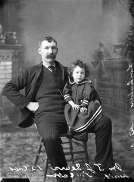 Photograph of Mr.  J. F. Sears and baby
