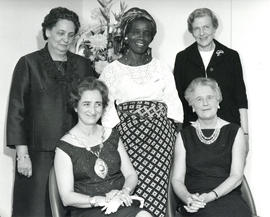 Photograph of Executive Committee International Council of Nurses 1965-1969