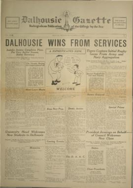 Dalhousie Gazette, Volume 62, Issue 1