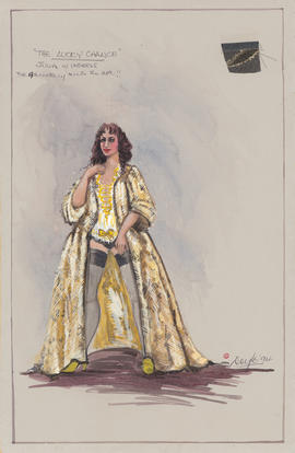 Costume design for Julia in undress