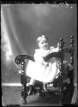 Photograph of the baby of James W. Ross