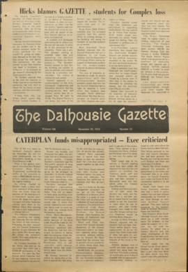 The Dalhousie Gazette, Volume 106, Issue 13