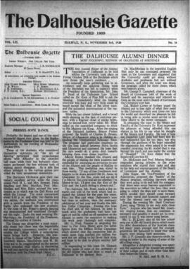 The Dalhousie Gazette, Volume 52, Issue 16
