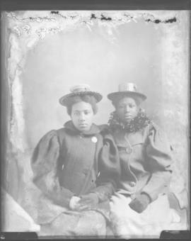 Photograph of Misses Brophy & Provost