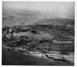 Aerial photograph of North End Halifax