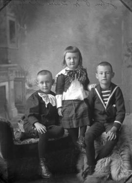 Photograph of John C. McLean's children