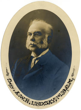 Portrait of Dr. Andrew Walter Herdman Linsday