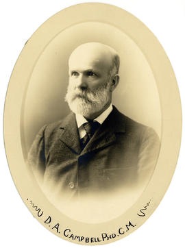 Portrait of D.A. Campbell