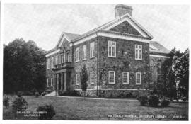 Postcard of the MacDonald Memorial Library
