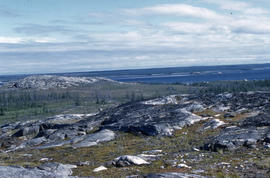 Photograph of the tundra near Fort Chimo, Quebec
