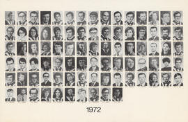 Faculty of Medicine - Class of 1972