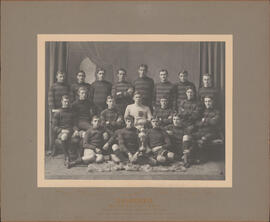 Photograph of Dalhousie Second Fifteen - Winners Junior League Trophy - Football