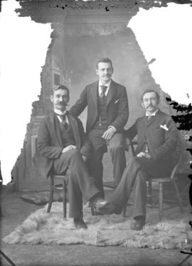 Photograph of Messrs. Rudd, Larson and Grimmer