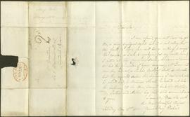 Five letters from Mary Dobie to James Dinwiddie