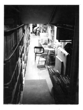 Photograph of the journal stacks in the Medical-Dental Library - 5963 College Street