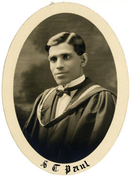 Portrait of Simon Tholath Paul : Class of 1926