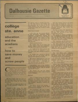Dalhousie Gazette, Volume 102, Issue 18