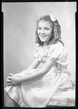 Photograph of Mrs. Cruikshanks' daughter