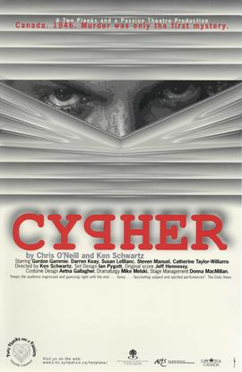Cypher / Chris O'Neill and Ken Schwartz [posters]