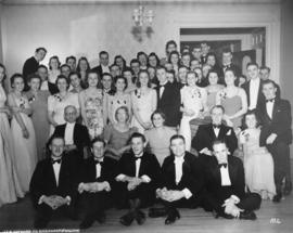 Photograph of fraternity dance