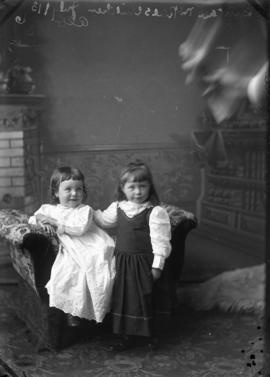 Photograph of Duncan McRae's daughters