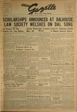 Dalhousie Gazette, Volume 86, Issue 5
