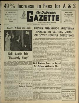 The Dalhousie Gazette, Volume 92, Issue 14
