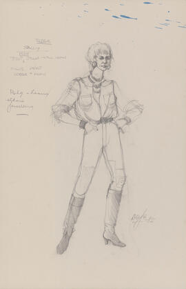 Costume design for Sally